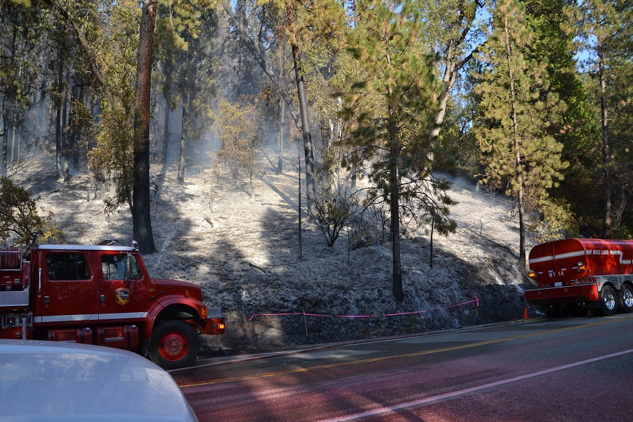 Suspected Point of origin of Pines Fire