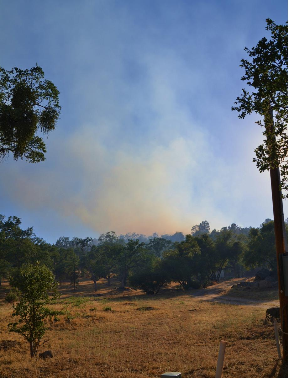 Fire from N Dome Drive