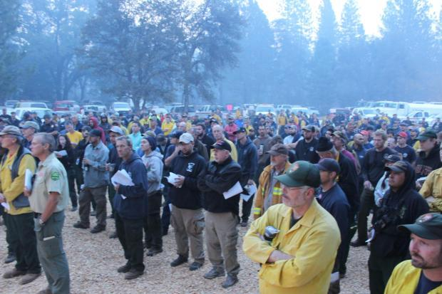 Morning Briefing - photo USFS Mike McMillan