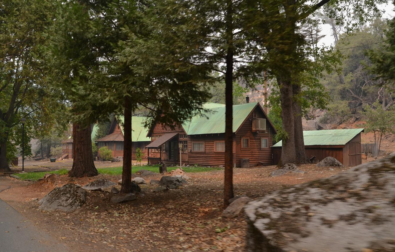 Cabins at Hetch Hetchy - photo by Gina Clugston