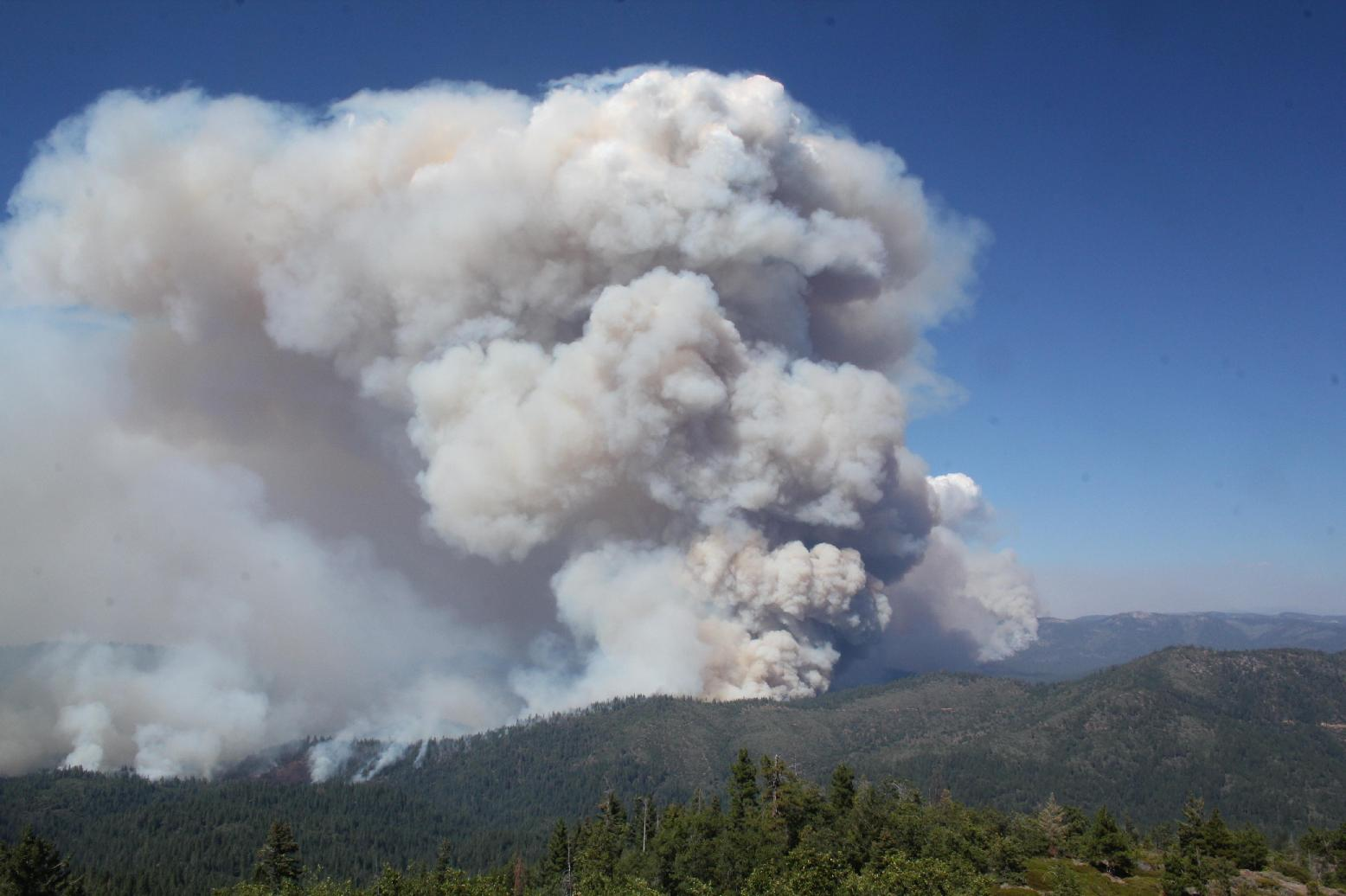 View from Pilot Peak Lookout - photo USFS Mike McMillan