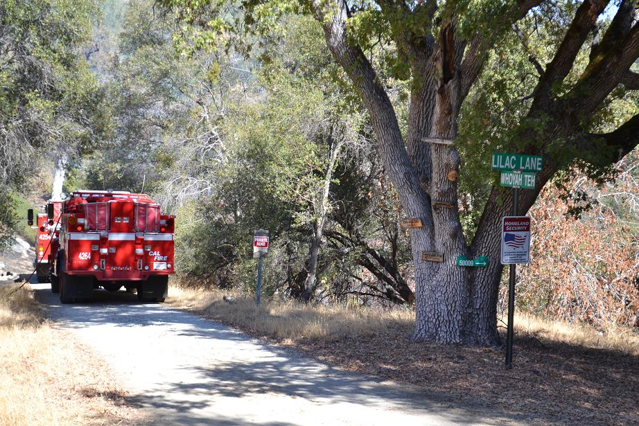 River Fire Road Intersection 10-19-12