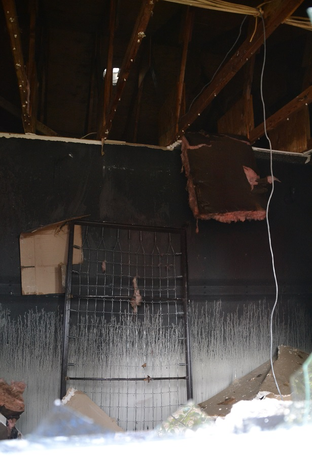 Interior of house on Road 620