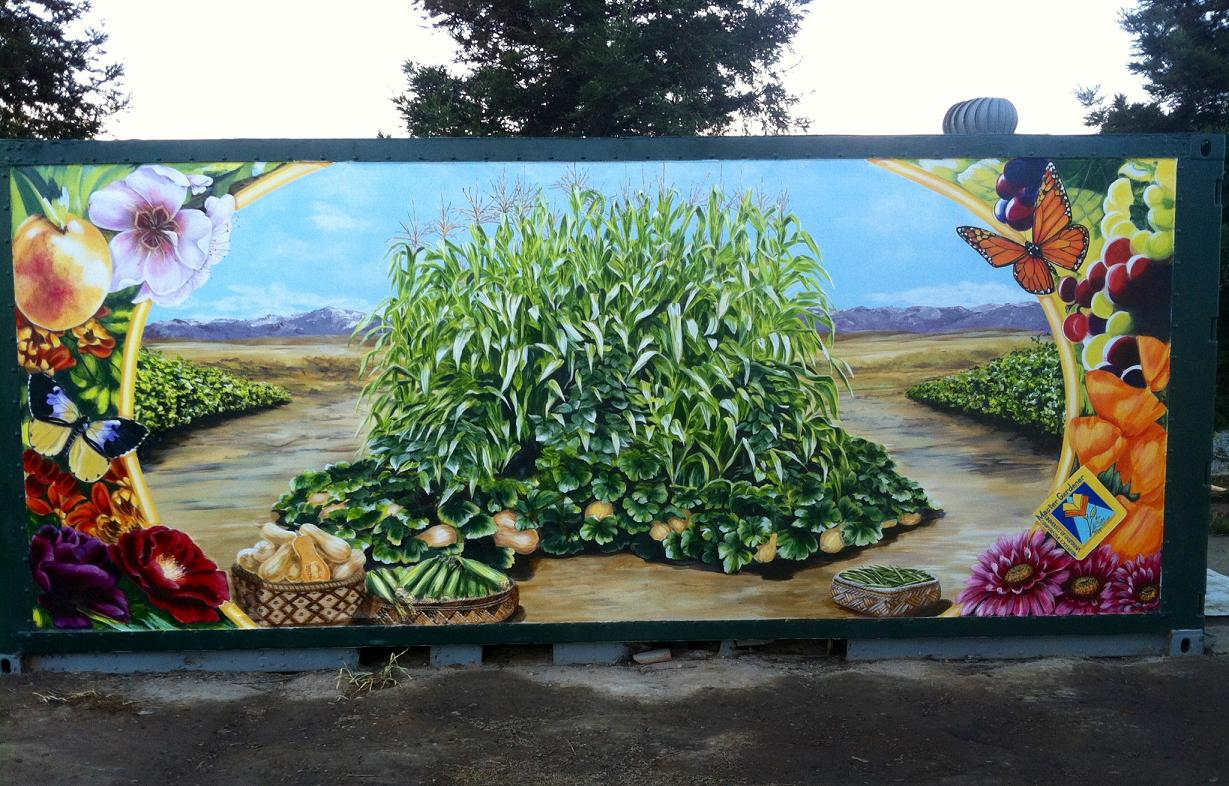 photo mural finished
