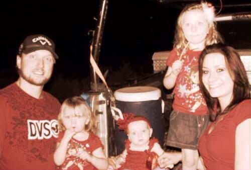 Happy FathersDay to my amazing husband Buck Scroggswho is the best father to our three little girls - Julia Marie Jones