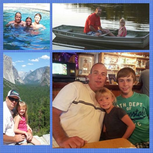 Happy Fathers Day to a sweet fun-loving adventurous hard-working and loving father. You are a great daddy. Your children are blessed to have you in their life. I love you Brad Weaver