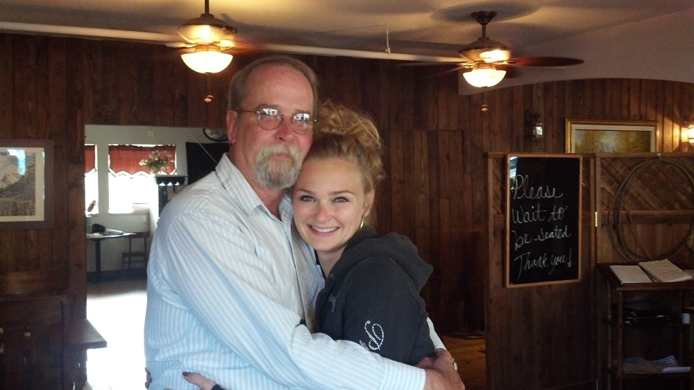 My Fathers Day present was being reunited with my daughter after 26 years. Love you Jennifer - Happy FathersDay - Dale