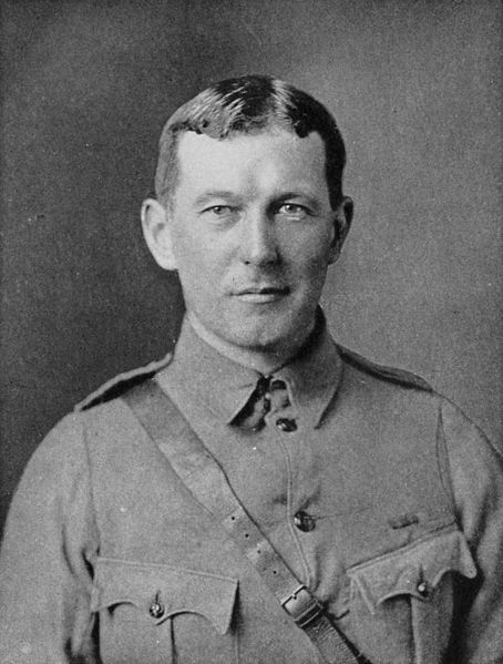 Canadian Lt. Colonel John McCrae World War I - Commons