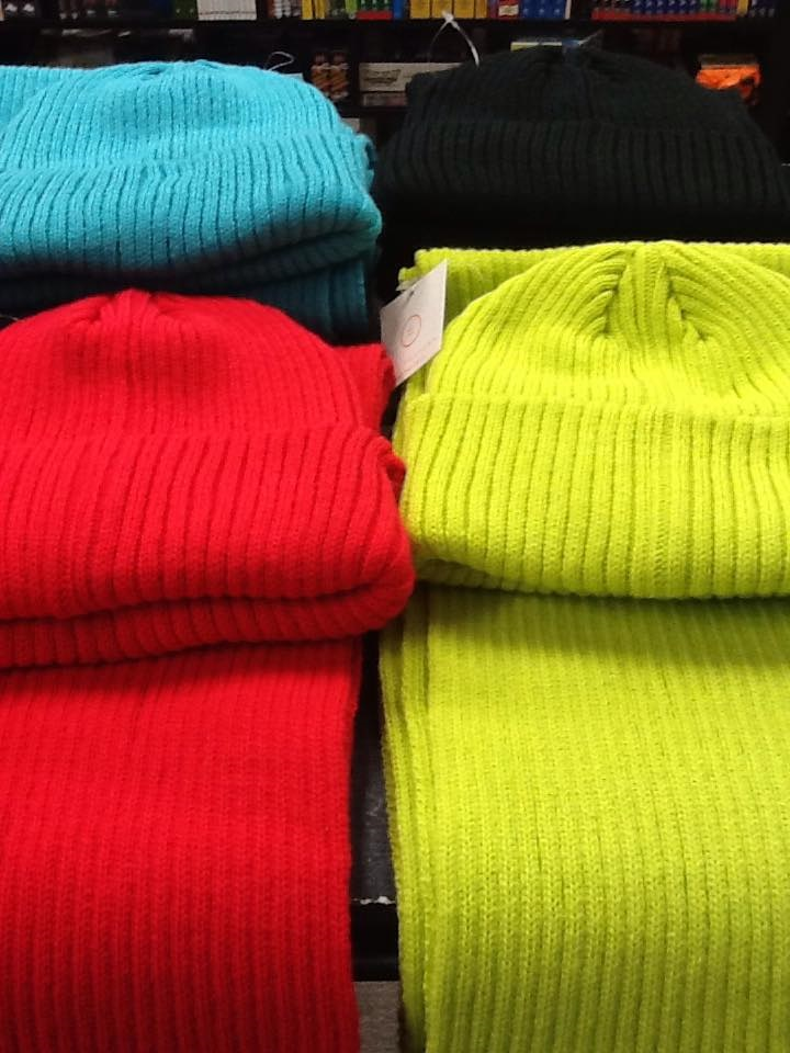 From Anne Driscol at Branches Books and Gifts - Here are some cozy beanie & scarf sets that are perfect for holiday gift giving. www.facebook.com/branchesbooks?fref=ts