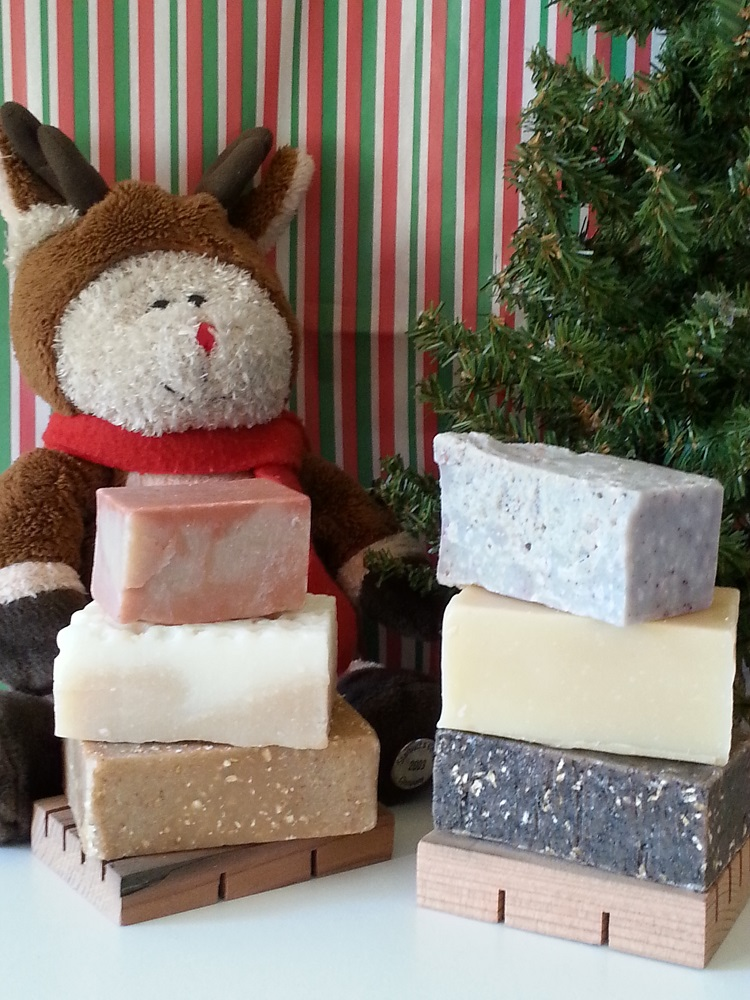 Sandra Adelizi sent in this image of products made by Tioga Soap Co. in Oakhurst https://www.facebook.com/tiogasoaps?fref=ts