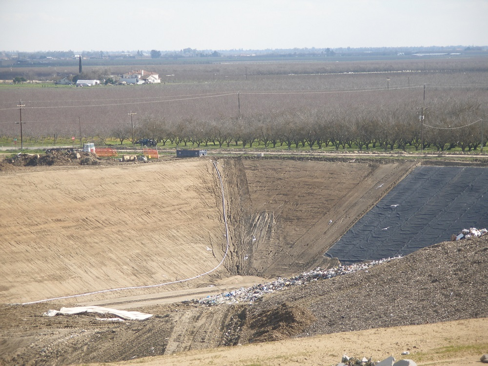 Ariel view of the landfill where the fossils are from courtesy FDC