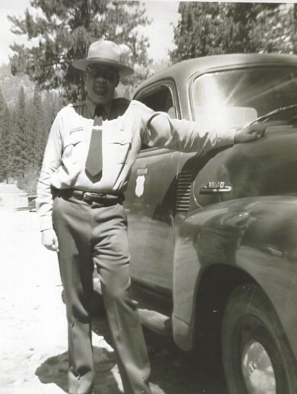 Ted McVey - Wawona - photographer unknown