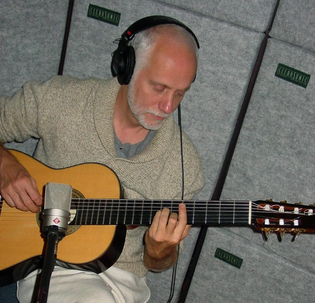 John Kilburn in the studio