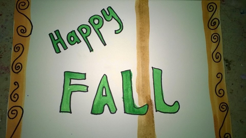 Happy Fall 2014 - photo provided by Peggy Decker