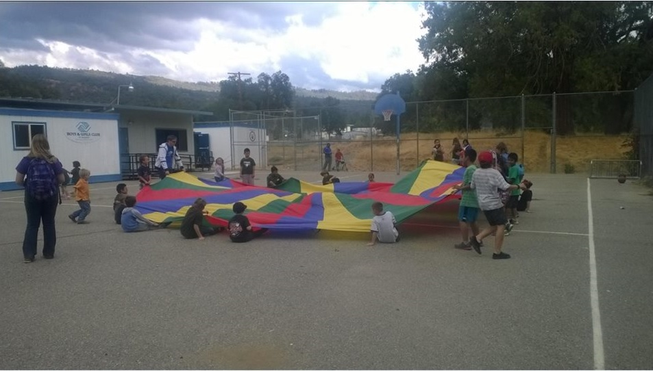 Parachute Fall 2014 - photo provided by Peggy Decker