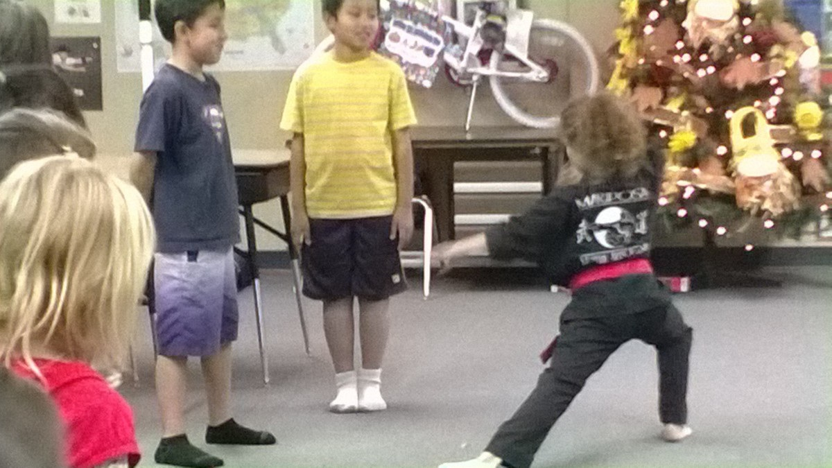 BGC Bully Proofing with Mariposa Martial Arts - photo courtesy of BGC