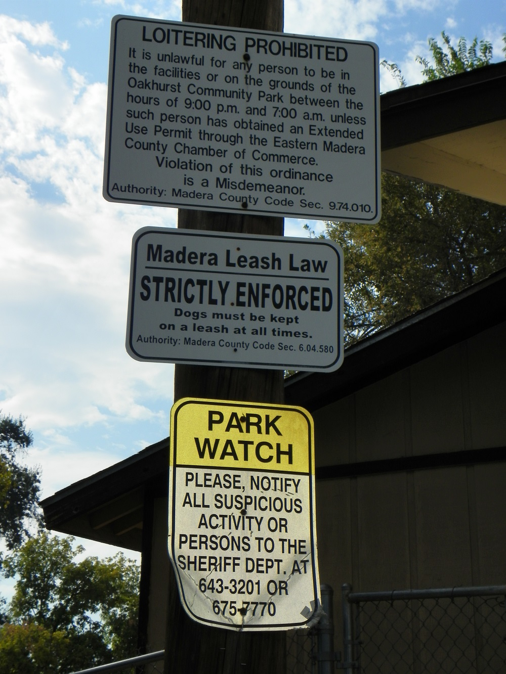Park Rules and signs - Photo by Kellie Flanagan