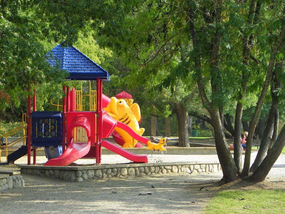 Park play structure - photo by Kellie Flanagan
