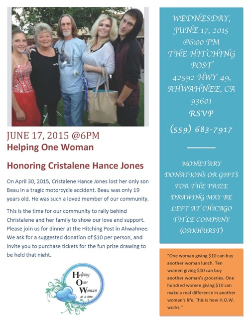 Cristalene Hance Jones family