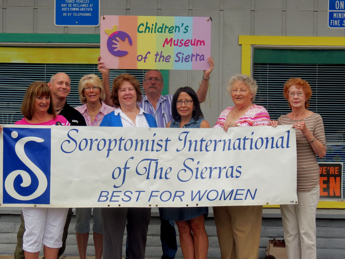 Sorpotimist organization supports Childrens Museum of the Sierra