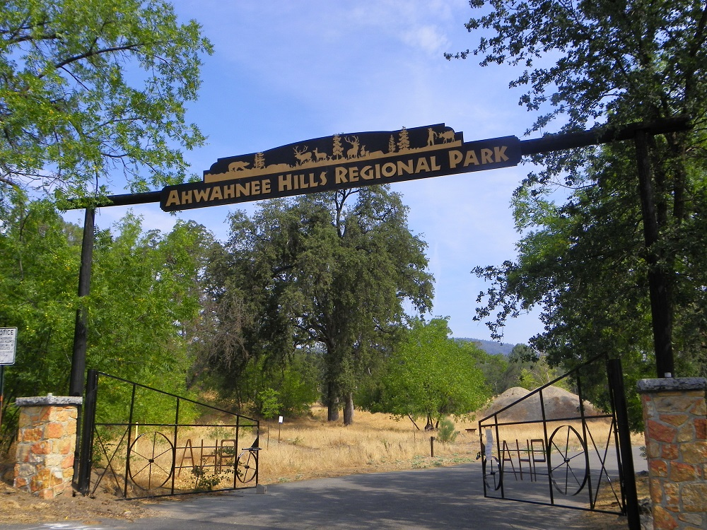 Ahwahnee Hills Regional Park entrance - July 28 2014 - photo by Kellie Flanagan