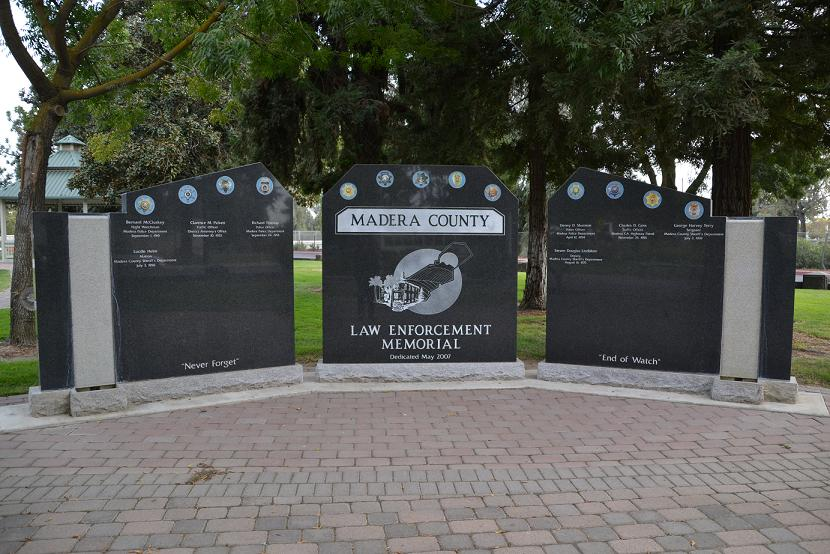 Law Enforcement Memorial - Madera Ca