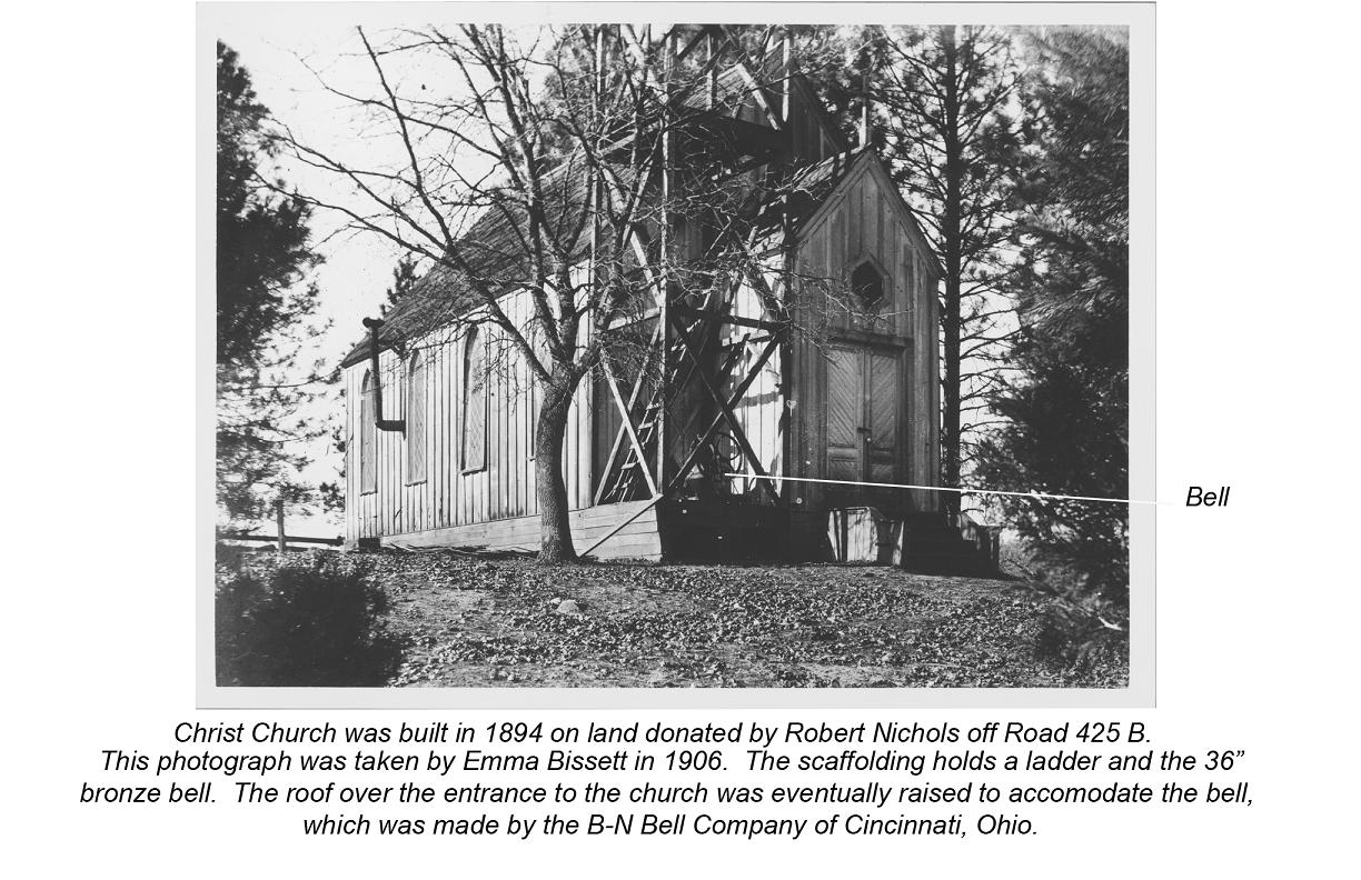 Oldest photo of the Little Church - photo courtesy of Madera Cemetery District