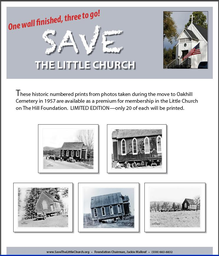 Save the little church limited edition prints