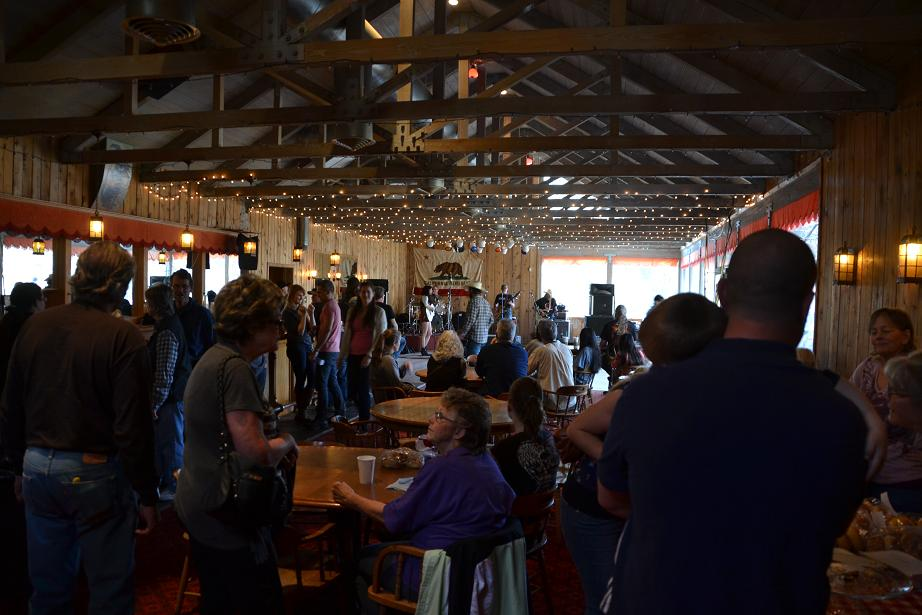 Inside the Saloon at Old Town Open House