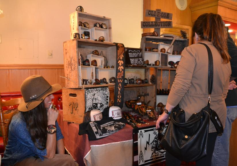 Vendors at Old Town Open House 1-18-14