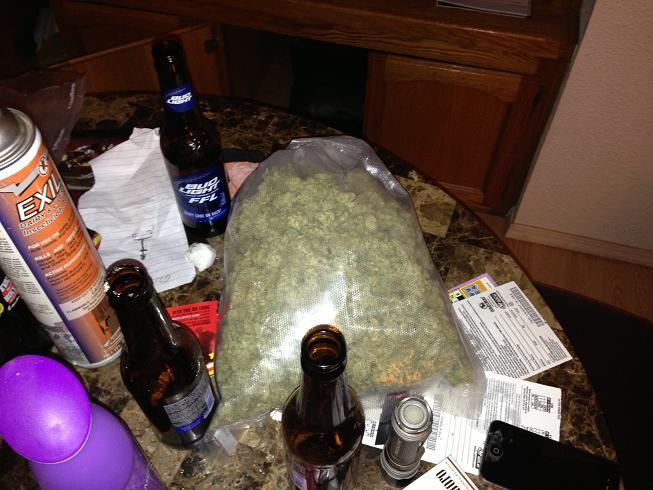 Bag Of Marijuana 9-26-12