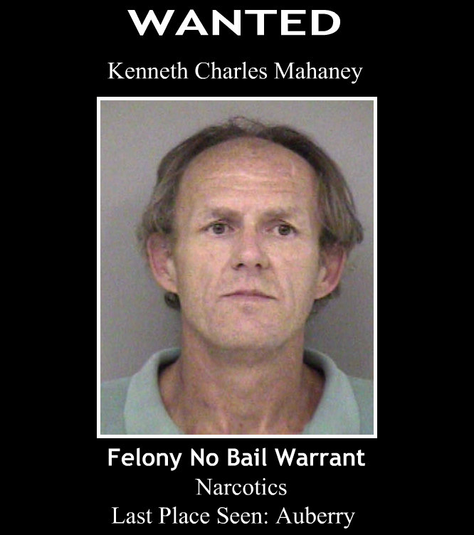Kenneth Mahaney WANTED