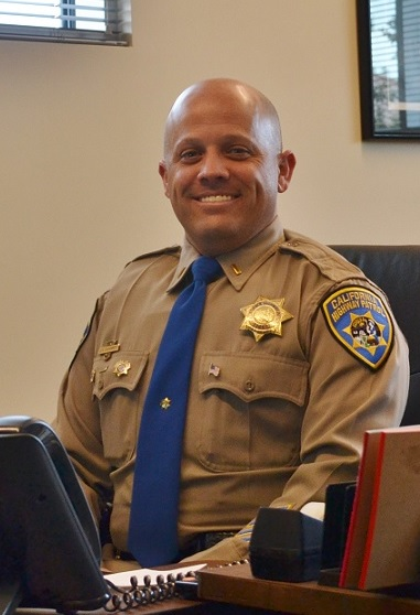 Lt. Jason Daughrity of the California Highway Patrol (2015)
