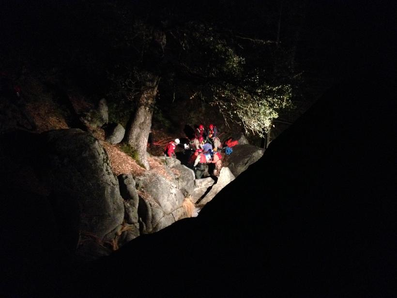 Lewis Creek Rescue Crews Photo by Madera County Sheriffs Office