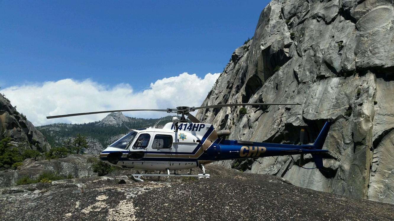 CHP414 helicopter - photo courtesy MadCo Sheriffs Office