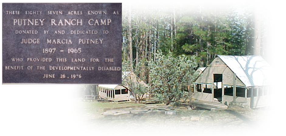 Putney Ranch plaque and photo