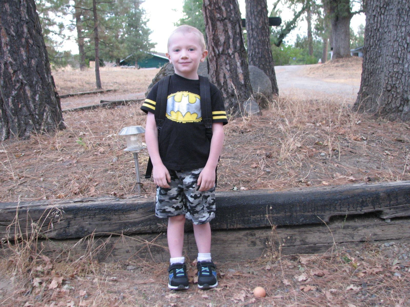Here is a picture of my son Jackson he is a transition kindergartener at O.E.S - Stephanie Harlan Bullock