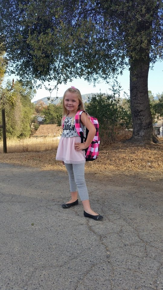 Kaydence Dion 1st grade at Wasuma by Lenna Pavelich