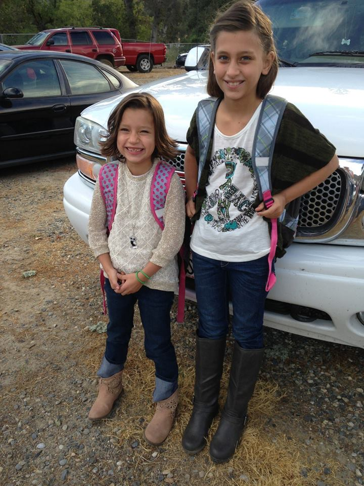 The Capuchino Girls Say hello to 2nd and 5th grades