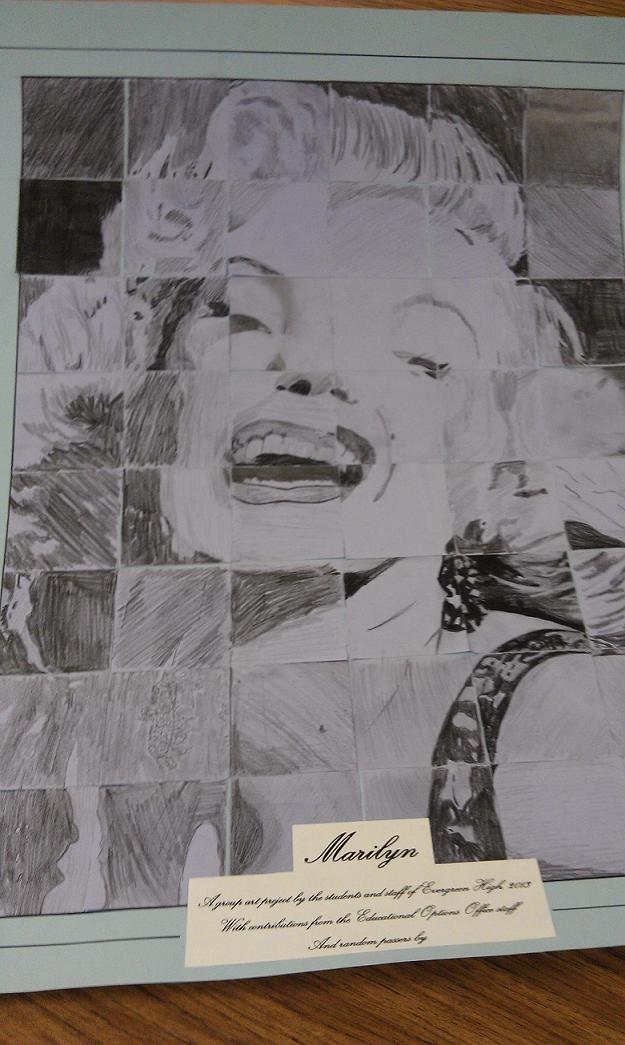 Marilyn group art project