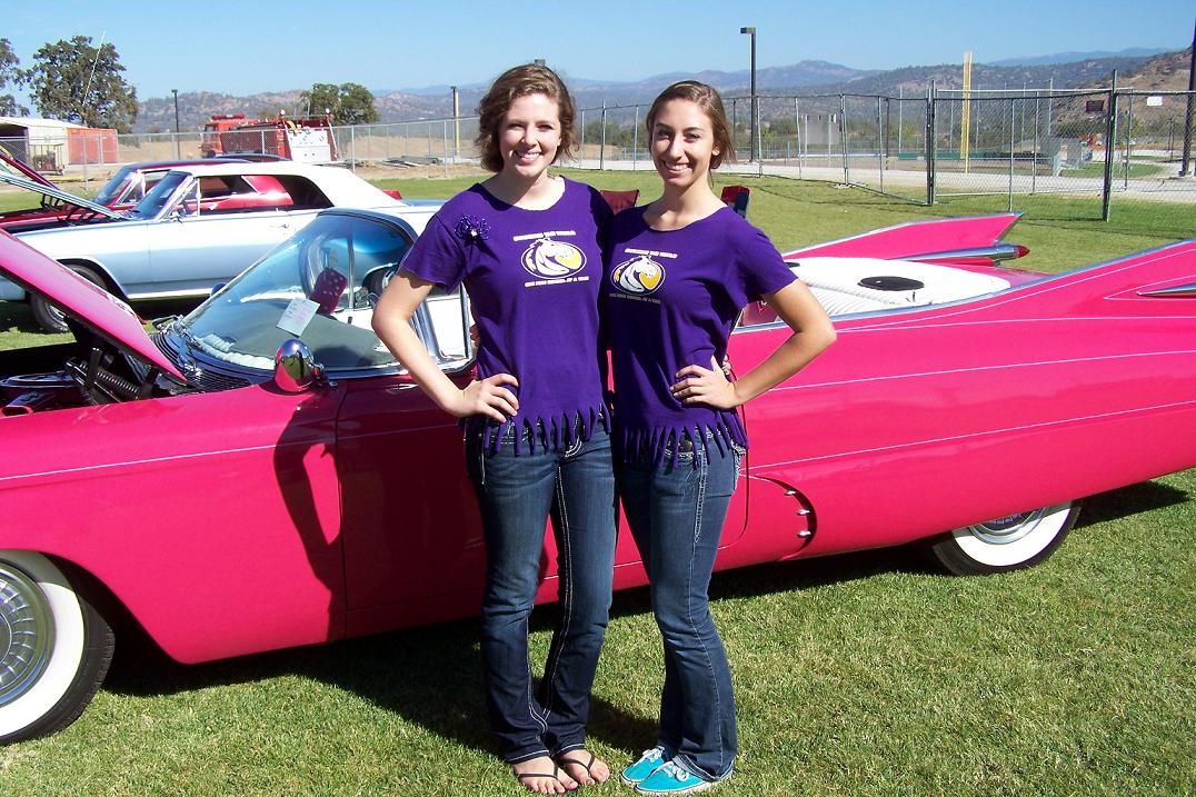 Katie Grant and Taylor Meyer 10-6-12 Minarets Car Show