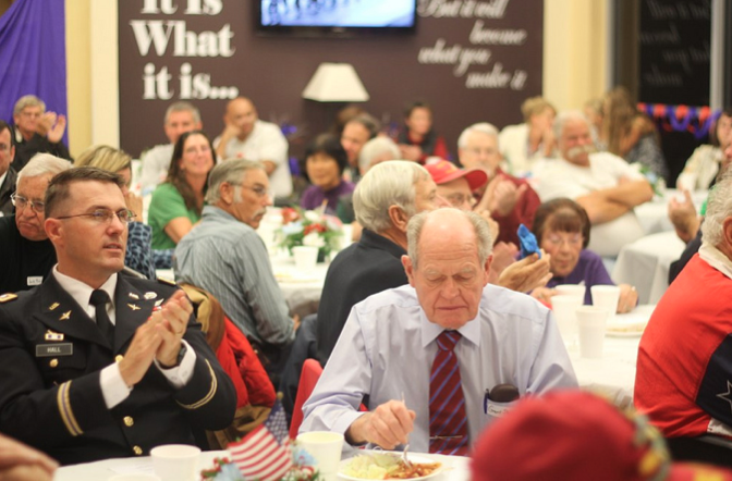 Minarets honors and celebrates veterans with dinner and records their stories for history - photo courtesy Minarets Media