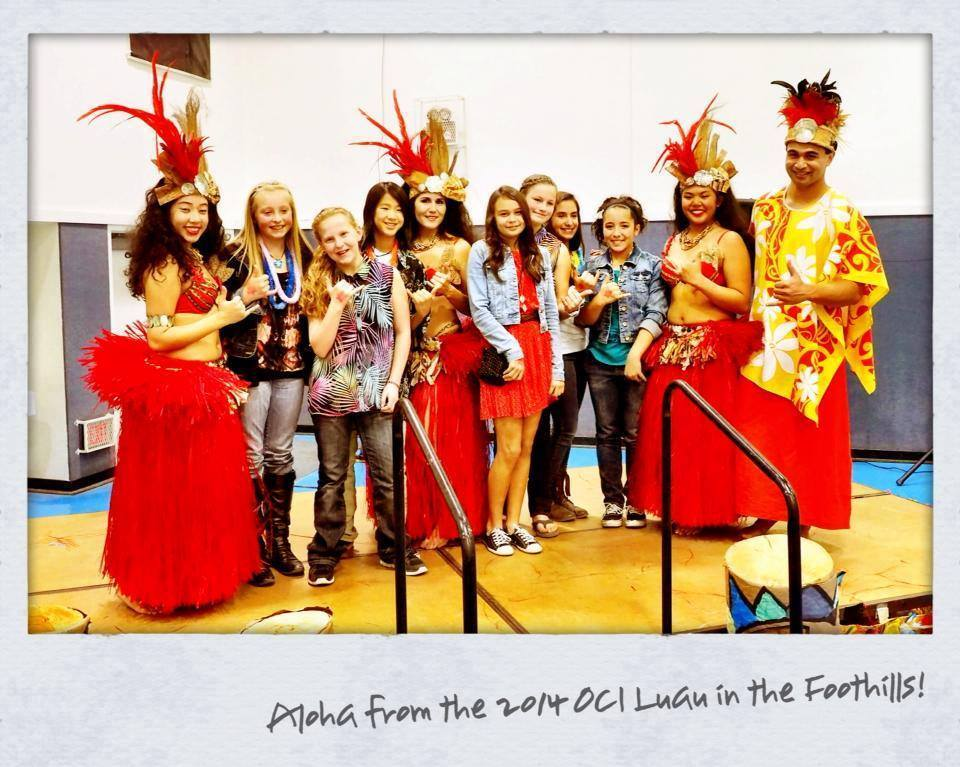 Luau in the Foothills Aloha with Polynesian Club of Fresno and OCI students  - courtesy OCI