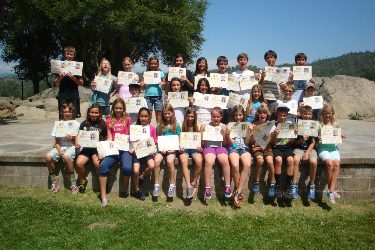 Rivergold 4th 5th and 6th grade gold honor roll in alphabetical order by grade.