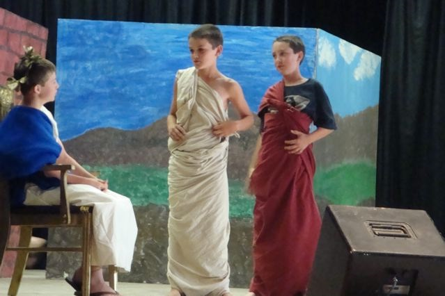 Rivergold 6th grade did their Spring performance - Greek Mythology on the eve of May 23rd - Photo courtesy Rivergold