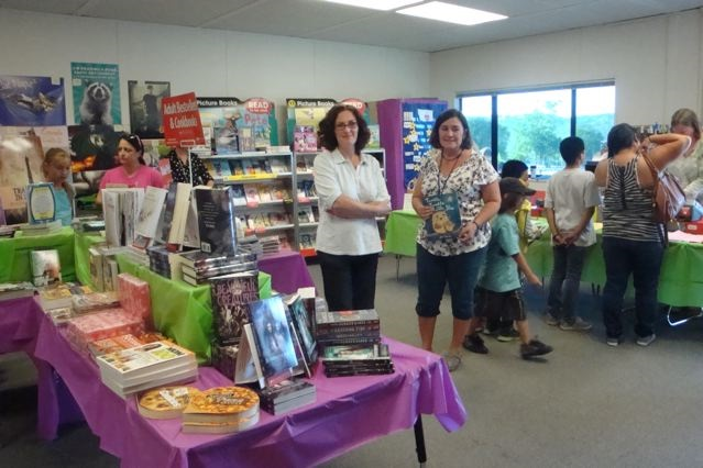 Rivergold  Mrs Sanguinetti organized a wonderful Scholastic Book Fair for our students - Photo courtesy Rivergold