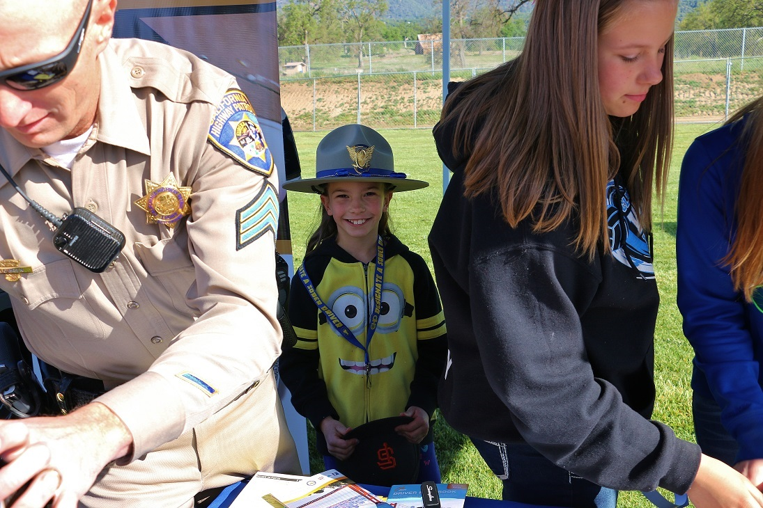 May be a future CHP Officer