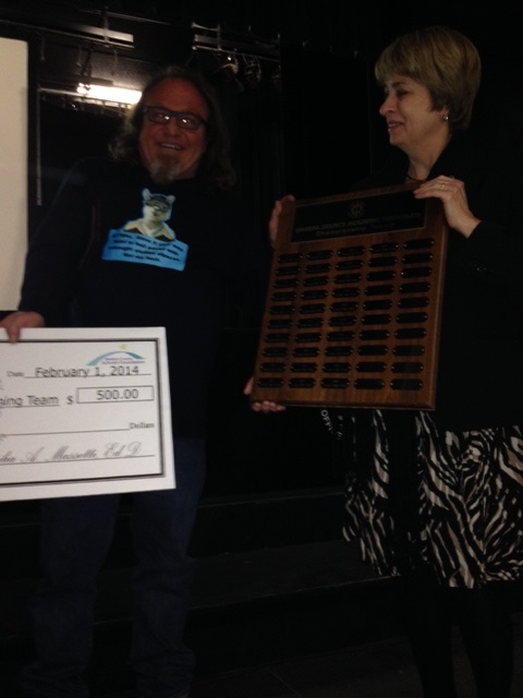 Yosemite teacher/coach Steve Browning is pleased to have won Acadec for the 21st year in a row