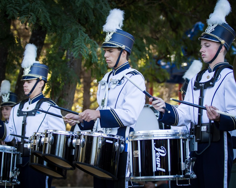 Percussion on Patriot Day 2014 - Photo by Virginia Lazar