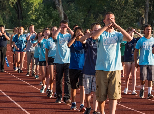 YHS Badger Band at summer band camp - 2014 - Photo by Steve Montalto HighMountain Images